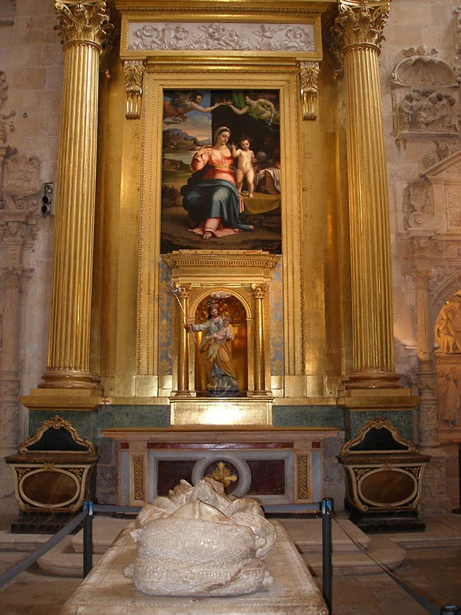 Capilla de San José o La Presentación. Catedral de Burgos