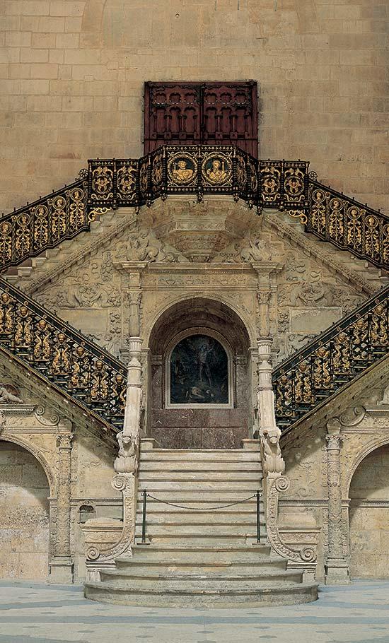 catedral de burgos pagina oficial la escalera dorada. Black Bedroom Furniture Sets. Home Design Ideas